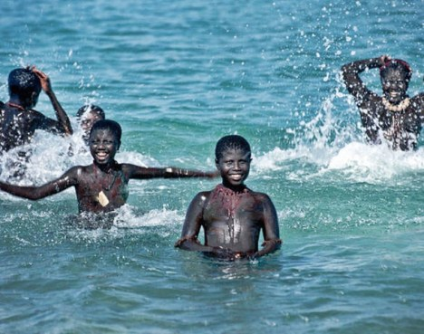 An Encounter with Asia's Last Pygmies. The last Jarawa of the Andaman island, India.