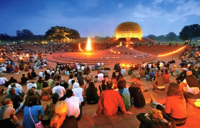 Auroville-Bonfire