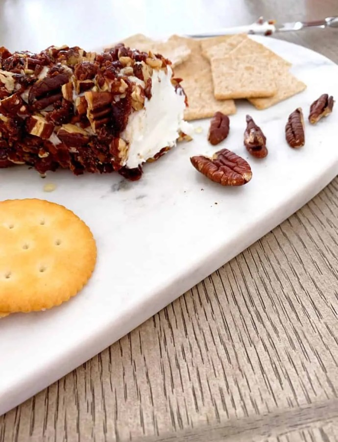 Cranberry Pecan Goat Cheese Log