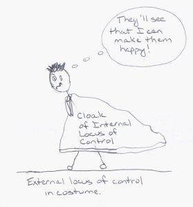External locus of control masquerading as internal locus of control