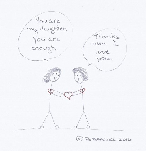 "alt=""daughter is enough"""