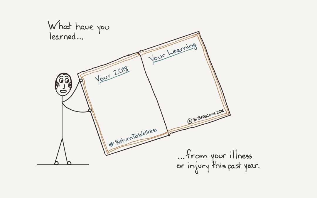 How to identify what your illness taught you this year