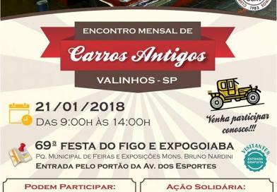 69º Festa do Figo e Expogoiaba – Encontro de Carros Antigos de Valinhos