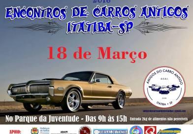 Encontro de Carros Antigos Itatiba – SP
