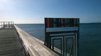 Art sur le débarcadère de St Paul