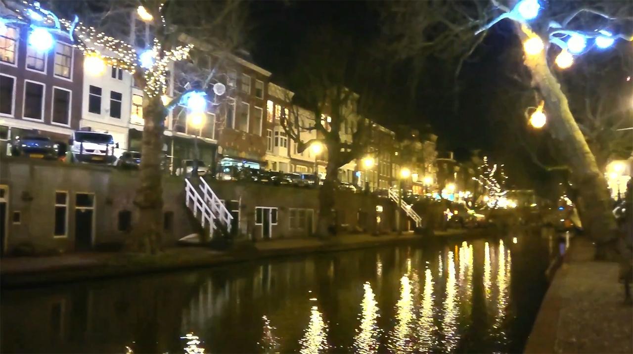 Utrecht Oude Gracht bezoek aan de soos Horticave December 2019