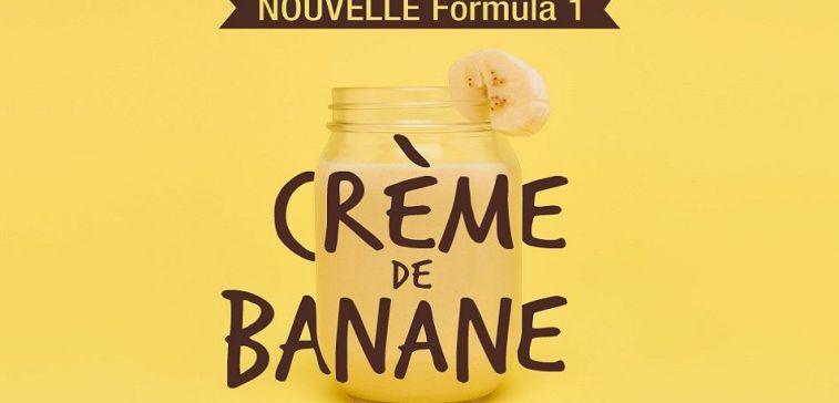 Formula 1 crème banane Herbalife slide 1