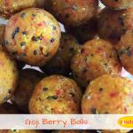 healthy goji berry date balls