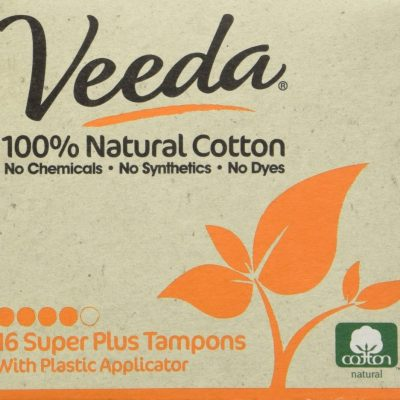 Veeda Chemical-Free Tampons Review