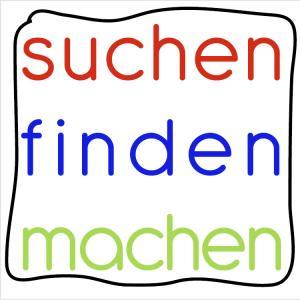 suchen/finden/machen logo