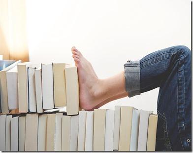livres couchés