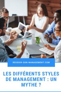 Les différents styles de management