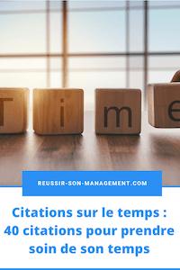 Citations sur le temps: 40 citations pour prendre soin de son temps