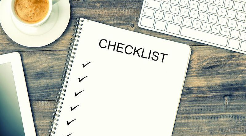 Liste de contrôle des tâches (checklist) : 6 étapes et 6 conseils