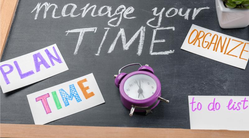 Organiser son temps: 9 conseils pour sortir la tête de l'eau!
