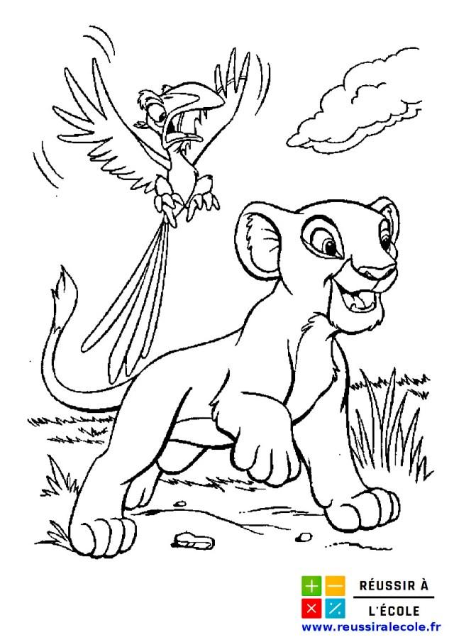 Coloriage Roi Lion GRATUIT  23 images à imprimer et à colorier