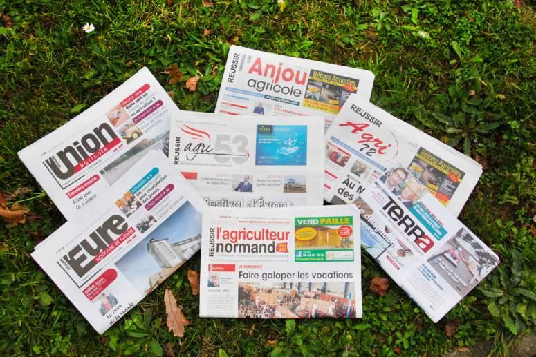 journaux presse agricole pour pubs print