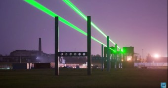 Test Laser Skyway