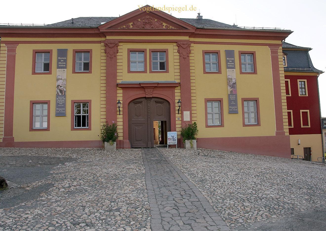 Fürstliche Schloss und Residenzstadt Greiz