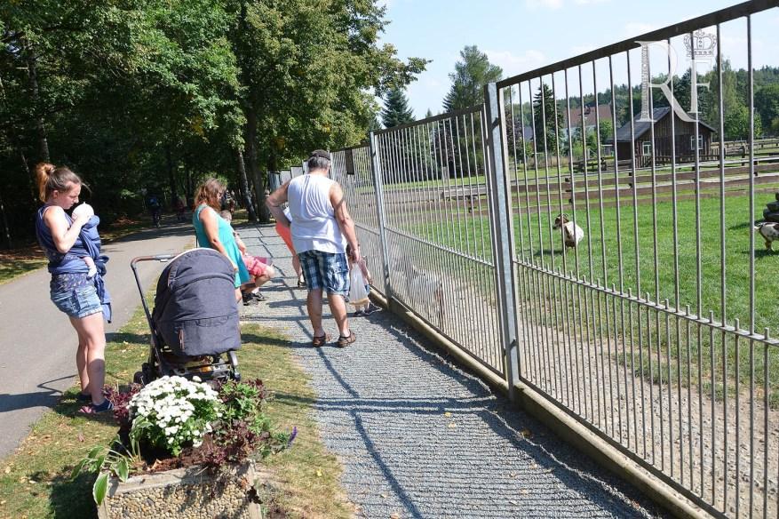 Tiergehegefest als Besuchermagnet für Jung und Alt