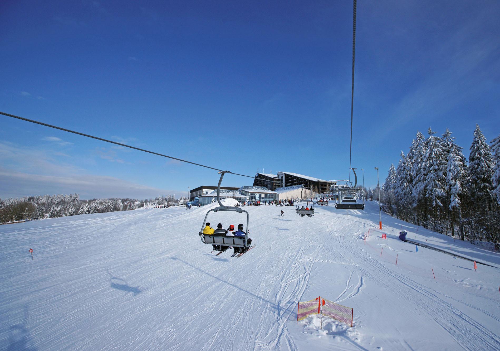 Winter im Vogtland: Schneekönige der Skipiste