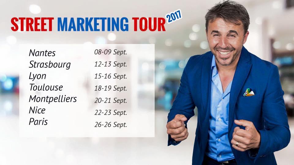 Street Marketing MLM Tour 2017