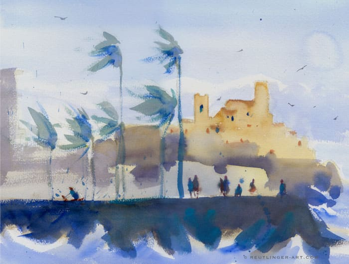 remparts antibes vent