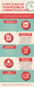 5 Quick Tips to Rev-Up Your Resume