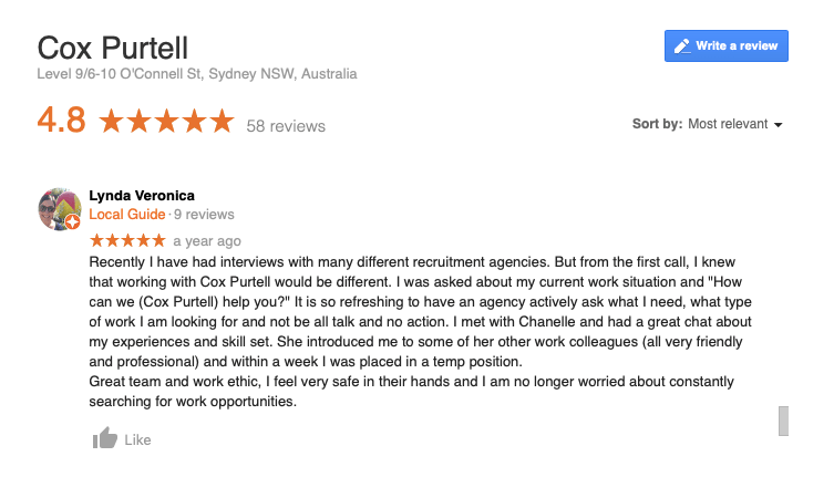 cox purtell  review