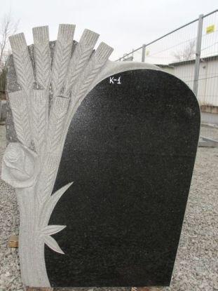 Hauakivi: K1 (kõrgus80cm./laius60cm.)
