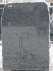 Hauakivi: K144 (kõrgus68,5cm./laius48cm.)