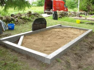Полированый бетон 3 места серый