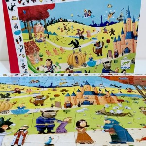 Puzzle observation Contes DJECO