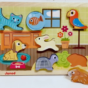 Puzzle Chunky Animo JANOD