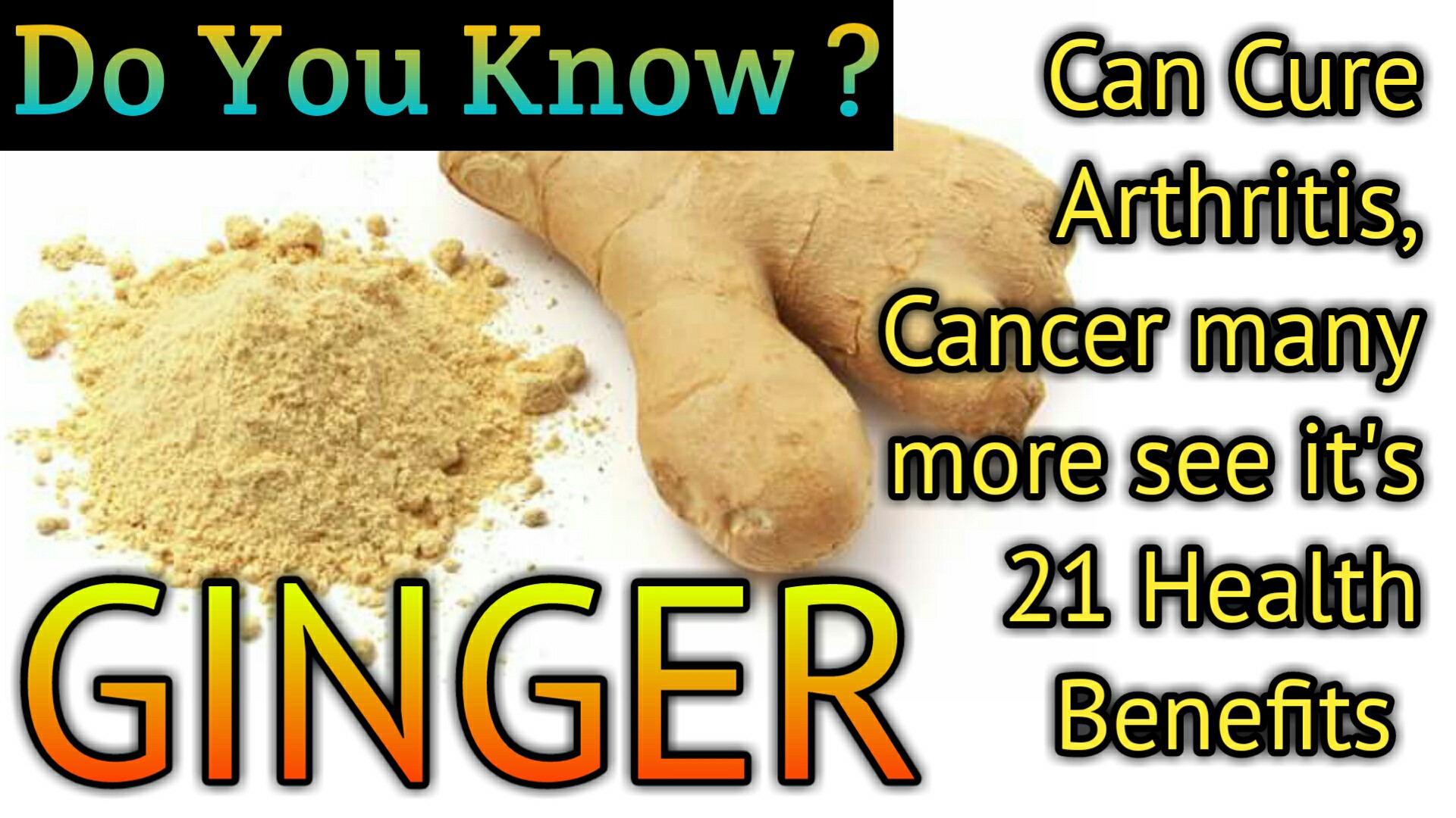Health benefits of ginger keep you healthy for longer time