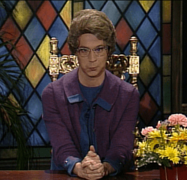 We don't have to be like the Church Lady to believe in the devil.