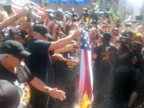 Joey Johnson Flag Burning Cleveland RNC