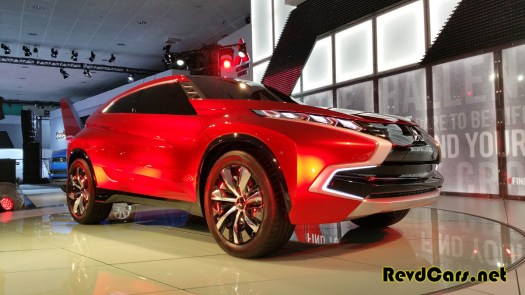 This was one of only two vehicles on display within the Mitsubishi booth - are we close to seeing this OE leaving the US market?