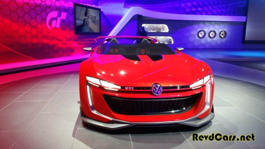 The VW GTI Roadster Concept - definitely worth of Gran Turismo