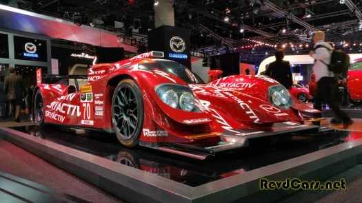 Didn't see anything of interest in the Mazda booth except this...