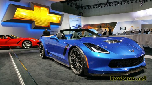 """Look at the rear """"spoiler"""" of the new Vette convertible - it's a giant Gurney flap"""