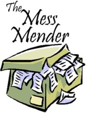 Professional Organizer work samples Work Samples The Mess Mender 1