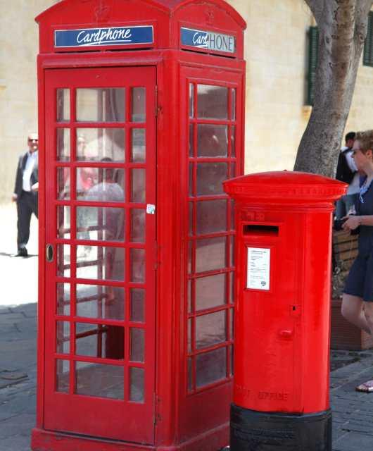Telephone box Malta