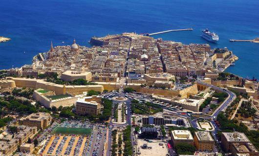 Valletta Aerial View