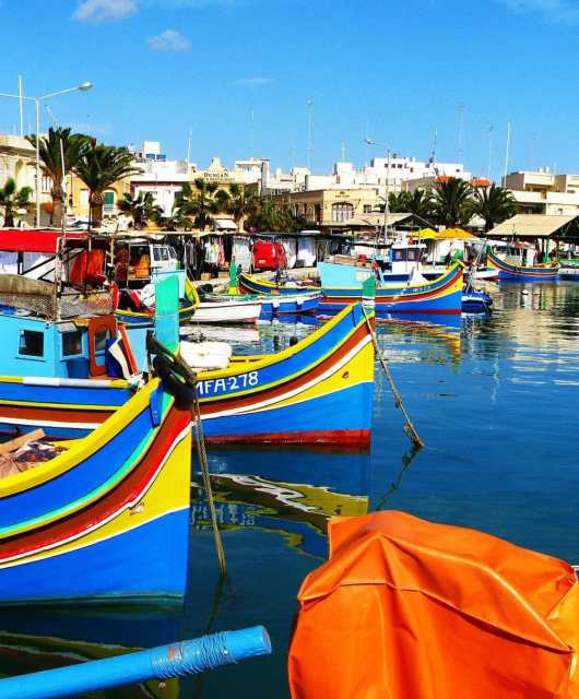 A Guide To The Perfect Day in Marsaxlokk