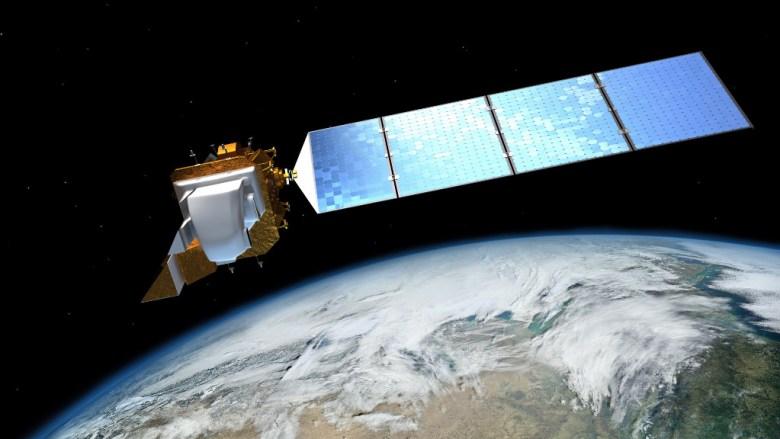 Landsat_8_(LDCM)_Satellite_over_Earth_1024
