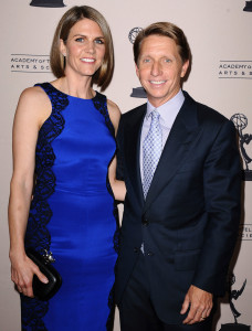 "Colleen and Bradley Bell are shown at the Daytime Emmy Awards nominee reception in 2013. Colleen Bell is the U.S. ambassador to Hungary, and Bradley Bell is executive producer of ""The Bold and the Beautiful."""