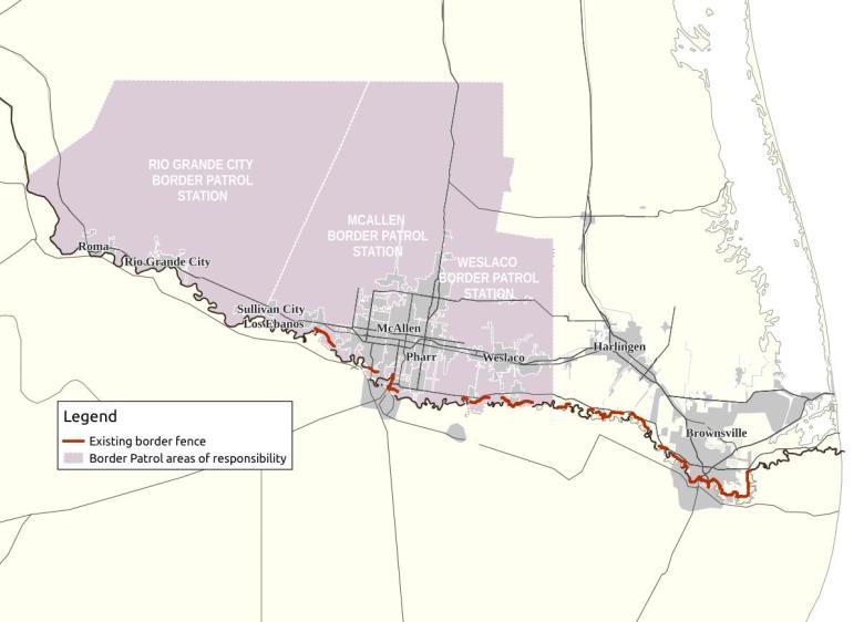 Rio Grande Valley Sector detail