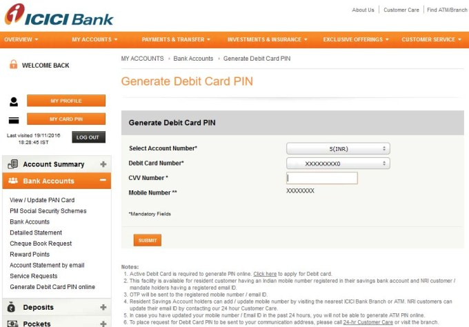 Recently.. like a week ago, some representative of ICICI Bank called me and talked to me about the Credit Card Protection scheme. They explained to me about the program and the benefits I Location: Near Chakli Circle, Old Padra Road, Vadodara, Gujarat,