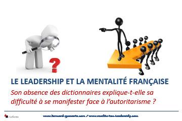 Couverture de l'article Leadership et mentalité française.